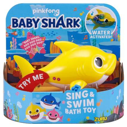 pinkfong Baby Shark Sing and Swim Bath Toy