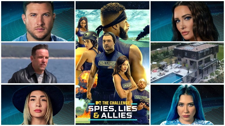The Challenge Spies Lies and Allies cast