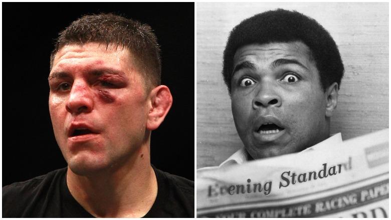 Nick Diaz and Muhammad Ali