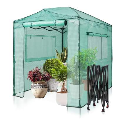 pop up portable greenhouse