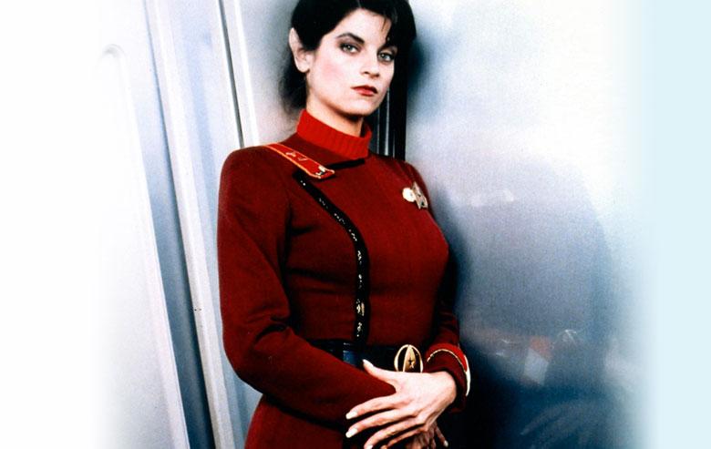 Kirstie Alley as Saavik