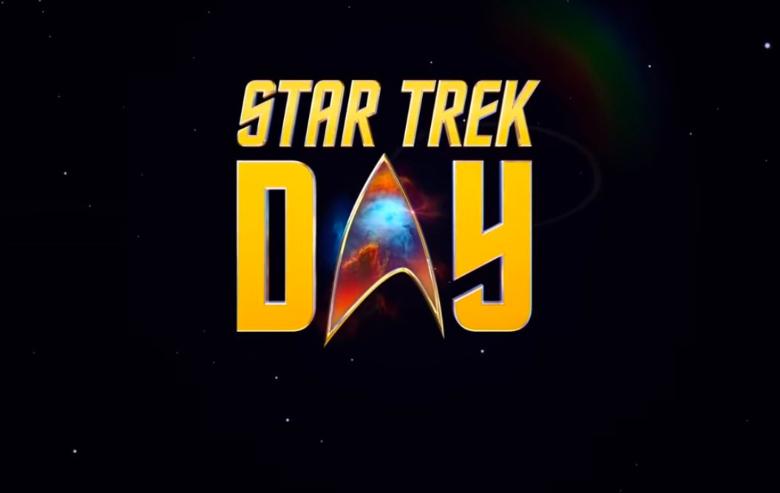 Logo for Star Trek Day 2021