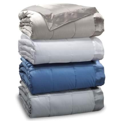 temperature regulating blanket