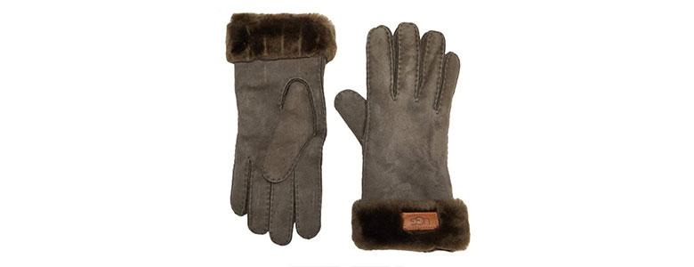 uggs womens turn cuff glove
