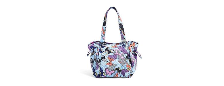vera bradley cotton gleena satchel purse