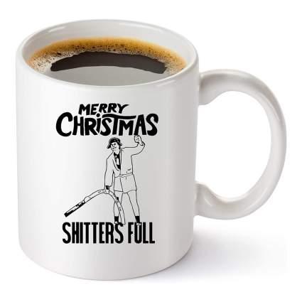 Uncle Eddie Christmas coffee cup