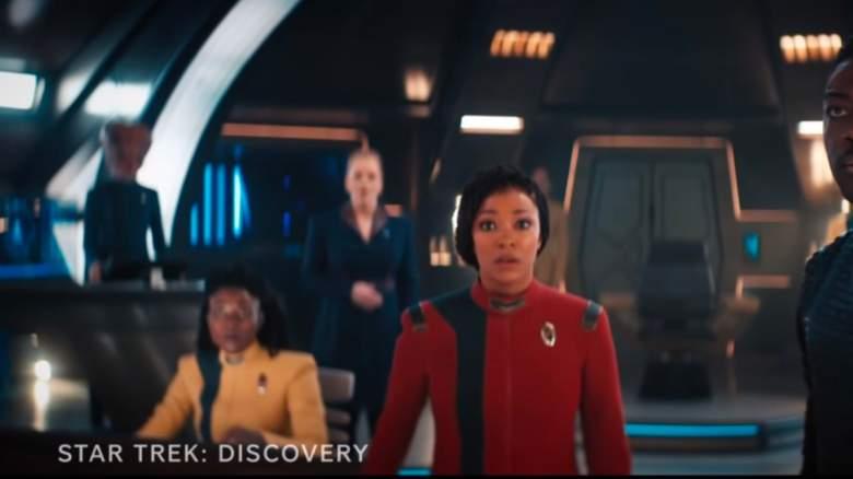 "Screenshot from the ""Star Trek: Discovery"" season four trailer"