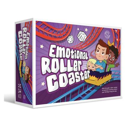 Emotional Rollercoaster Anger Management Board Game for Kids