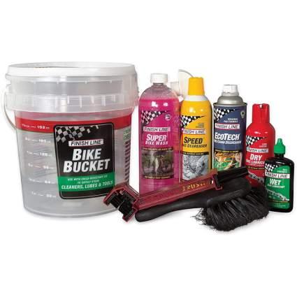 finish line pro care bucket kit