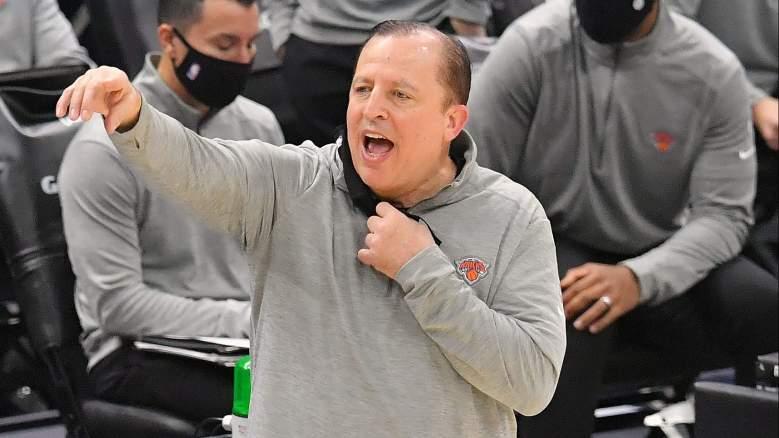 Knicks coach Tom Thibodeau