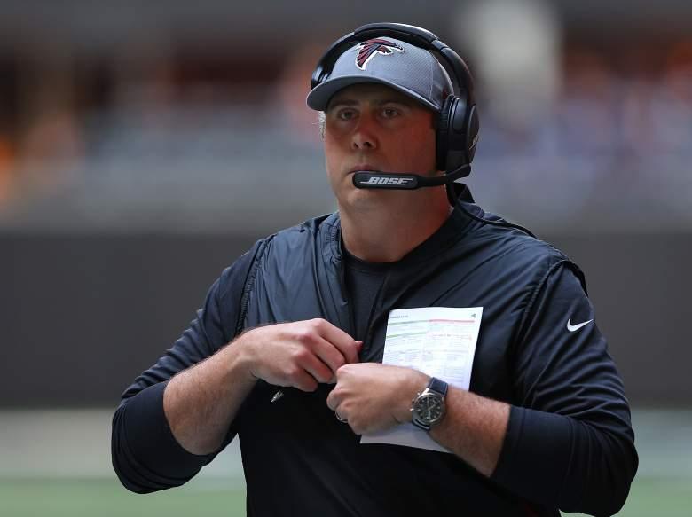 Falcons head coach arthur smith