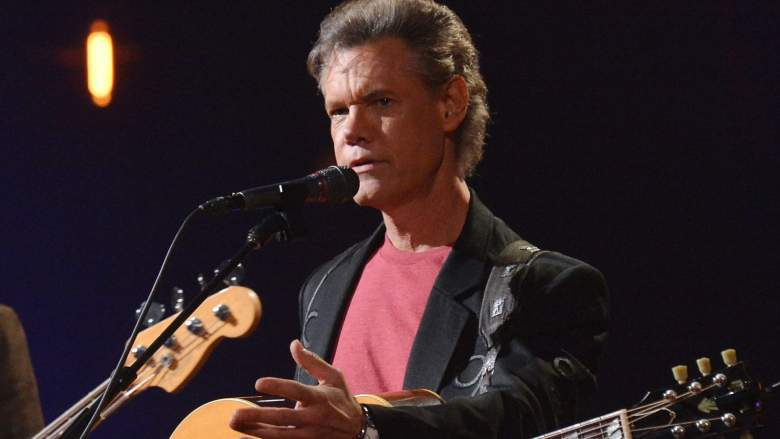 Randy Travis performs during CMT Crossroads