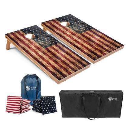 LED Cornhole Board Set