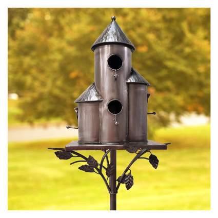 metal multi bird house