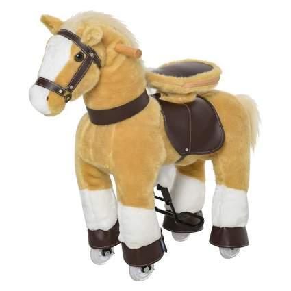 Qaba Ride-On Walking Rolling Kid's Horse
