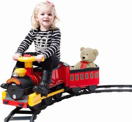 Rollplay Steam Train Ride-On Toy