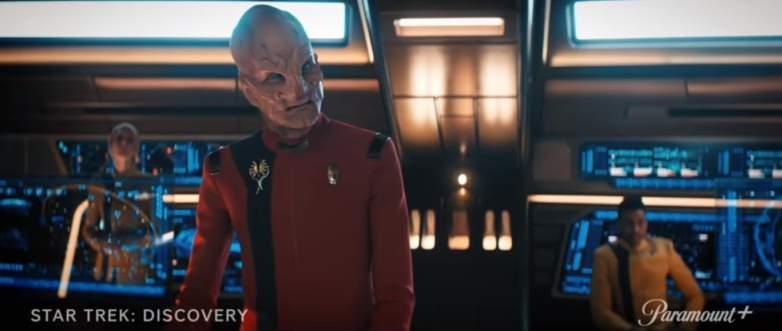 Screenshot from the 'Star Trek: Discovery' season four trailer