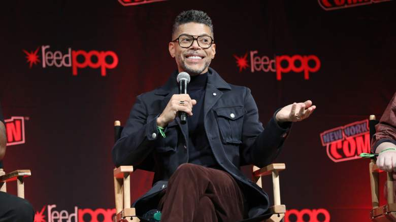 Wilson Cruz speaks onstage during Paramount+ Brings Star Trek: Discovery Cast and Producer to New York Comic Con for Exclusive Panel during Day 3 of New York Comic Con 2021 at Jacob Javits Center on October 09, 2021 in New York City