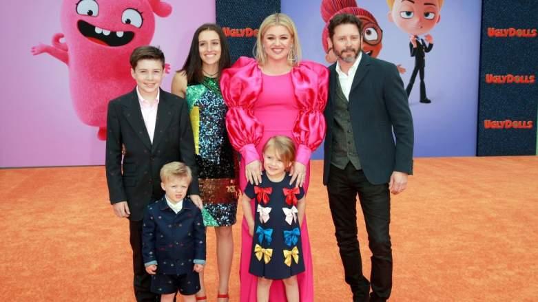 Kelly Clarkson family