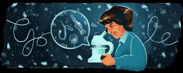 María de los Ángeles Alvariño González google doodle