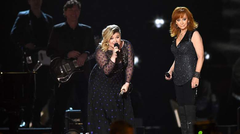 Kelly Clarkson and Reba