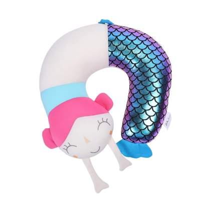 mermaid neck pillow