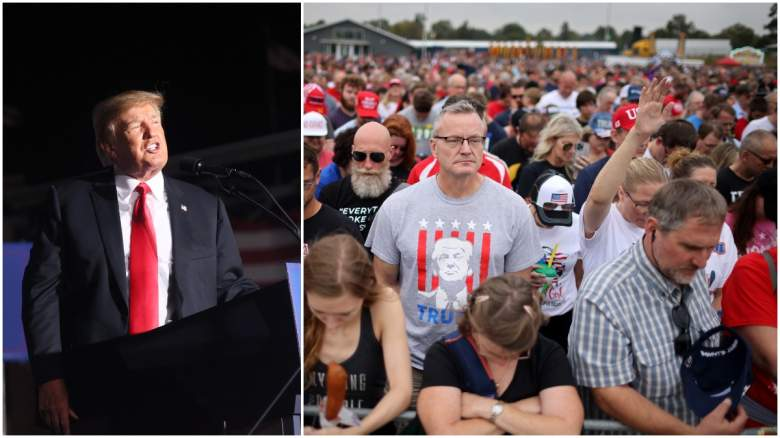Trump Iowa rally attendance