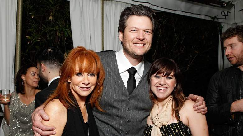 Reba McEntire and Kelly Clarkson